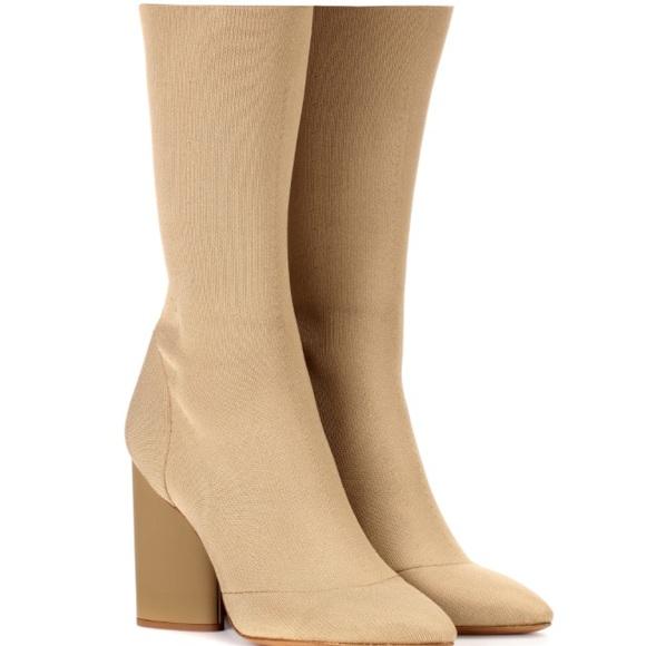 83286813f8186 NEW Yeezy Season 4 Low Knit Calf Boot
